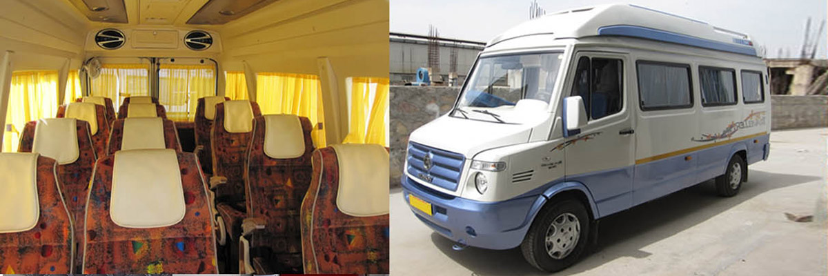 char dham yatra 12 Seater tempo traveller