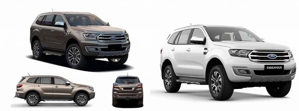 Ford Endeavour Luxury Car hire Service