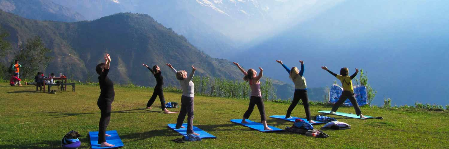 Yoga & Adventure Tour in the Himalayas